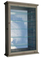 Broach Std Display Cabinet