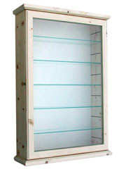 Broach Magnolia Backboard Display Cabinet